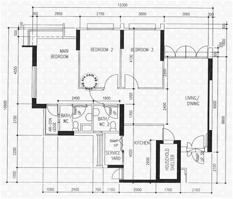 hdb floor plan floor plans for punggol central hdb details srx property