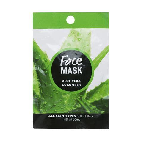 Aloe Vera Mask Aloe Vera Cucumber Mask Kmartnz