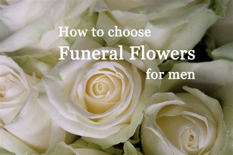 Best Flowers For Funeral by Funeral Flowers Suitable For Menflower Press