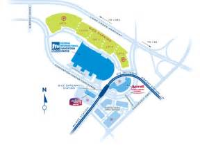 Atlanta Airport Map by Georgia International Convention Center Attendees