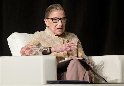 justice ruth bader ginsburg defends the media praises