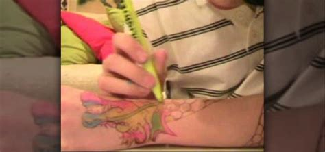 how to give yourself a tattoo with pen ink how to make a with a ballpoint pen 171