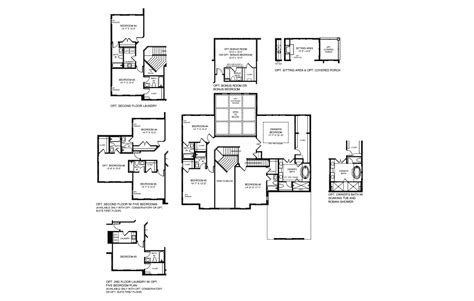 nv homes floor plans nv homes roosevelt floor plan