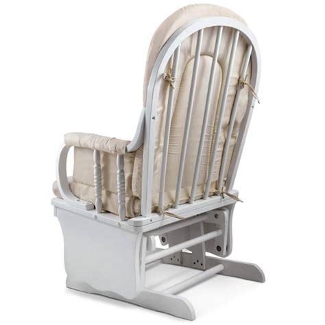 breastfeeding armchair breastfeeding rocking glider chair w ottoman white buy