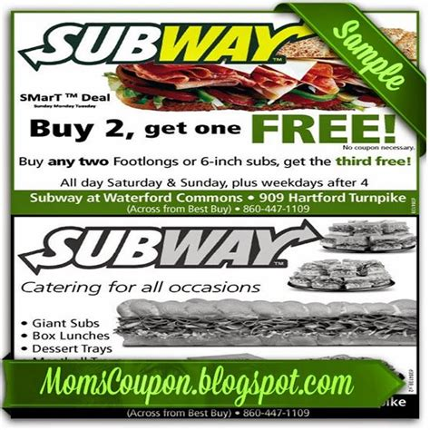printable subway coupons february 2016 subway discount coupon february 2015 local coupons