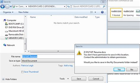 drive doc cant save word doc to usb windows 7 help forums