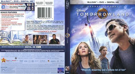 dvd slipcover tomorrowland blu ray dvd cover label 2015 r1