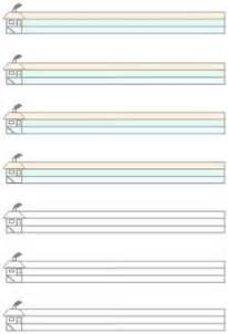 lineatur klasse 1 mit haus gro 223 e lineatur und schreiblinien zum schreiben lernen