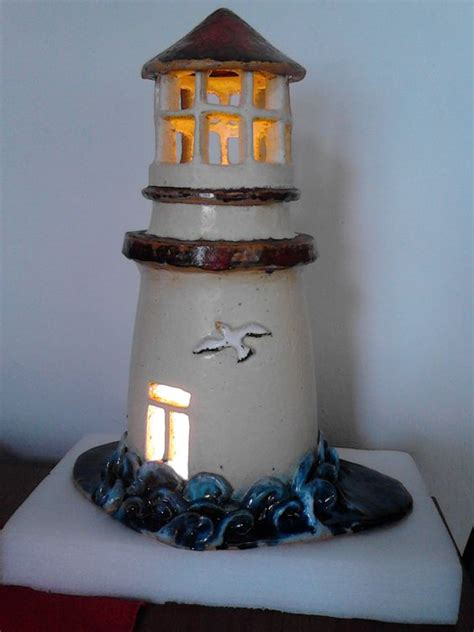 Handmade Lighthouse - ceramics handmade ceramic and handmade on