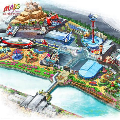 theme park in malaysia coming to malaysia asia s first animation park opens in