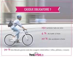 vers une obligation du port de casque pour les cyclistes