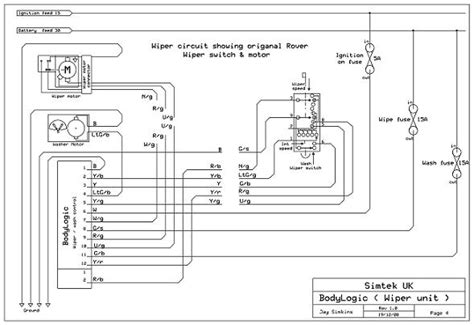 land rover series 3 wiper motor wiring diagram wiring