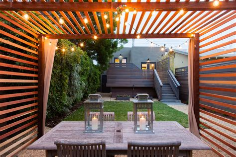 modern patio design awesome privacy fence designs decorating ideas images in
