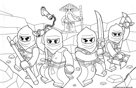 Free Coloring Pages Of Ninjago Cartoons Ninjago Coloring Pages