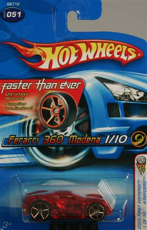 Wheels Fte 2005 Editions X Raycers 360 Modena 360 modena model cars hobbydb