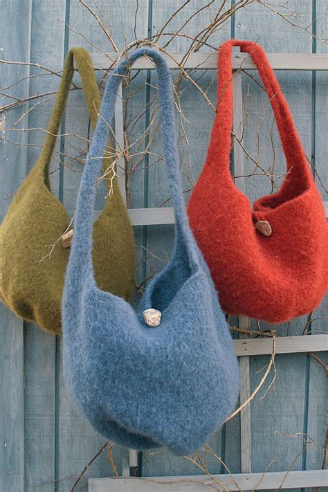 pattern felt halcyon yarn felted knitting satchel knitting pattern