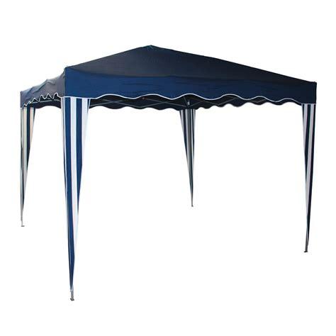 garten faltpavillon gartenpavillon faltpavillon alu metall 3x3 meter blau