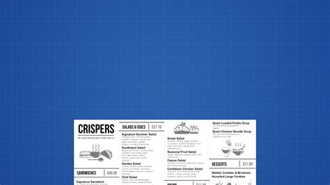 digital menu board templates design a digital menu board free template included