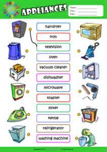 Kitchen Appliances Worksheet Appliances Esl Printable Worksheets For 1
