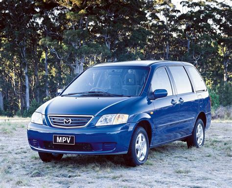 mazda mpv 2016 mazda mpv 1999 lw second generation australia photos