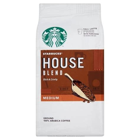 starbucks house blend starbucks house blend coffee ground 200g ebay