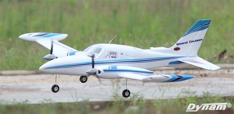 Dynam Cessna 310 Grand Cruiser 1280mm Motor Retrac Murah dynam cessna 310 grand cruiser 1280mm wingspan v2