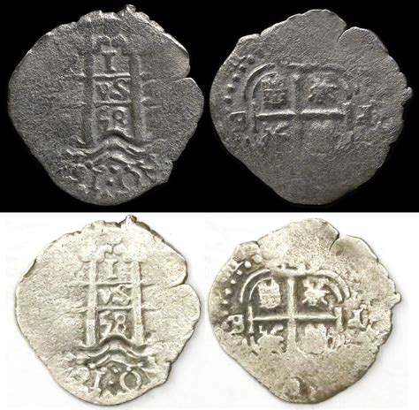 Ac 2436 Silver ancient resource pirate shipwreck treasure coins for sale