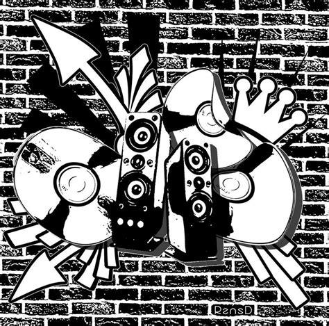 2011 house music housemusic graffiti by rensd on deviantart
