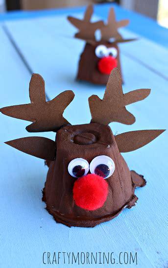 childrenss reindeer christmas crafts images egg reindeer craft for crafty morning