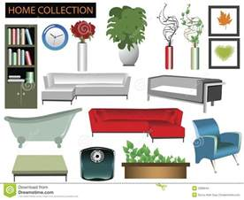 home furniture and items household items collection stock images image 2286044