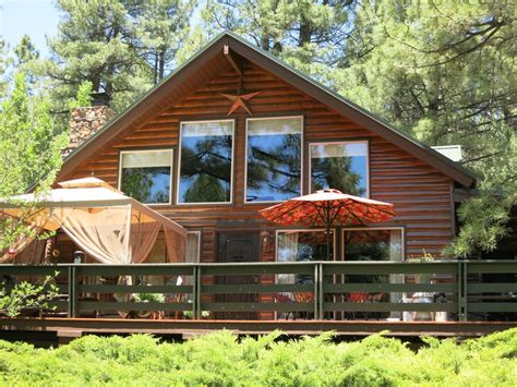 Northern Az Cabin Rentals by Log Cabin In The Pines Of Northern Arizona Vrbo