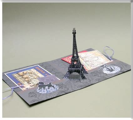 pop up cards templates eiffel tower eiffel tower pop up card some assembly required paper