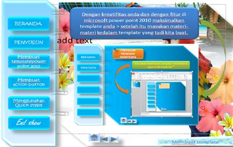 cara membuat power point lebih kreatif membuat template power point 2010 cyber faisal