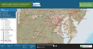 maryland food map md food system map economic impacts of local and