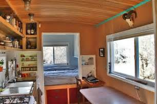 Tiny House One Level Man Builds 200 Sq Ft Solar Off Grid Tiny House