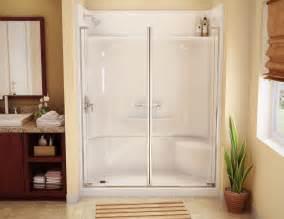 one fiberglass shower stalls useful reviews of
