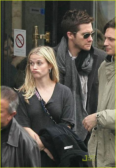 Reese Witherspoon And Jake Gyllenhaal Come Out As A During A Trip To Rome by Reese Witherspoon Jake Gyllenhaal Flore Flirts Photo
