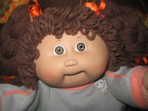 how to make cabbage doll hair styles vintage cabbage patch kid doll girl kid cabbage patch