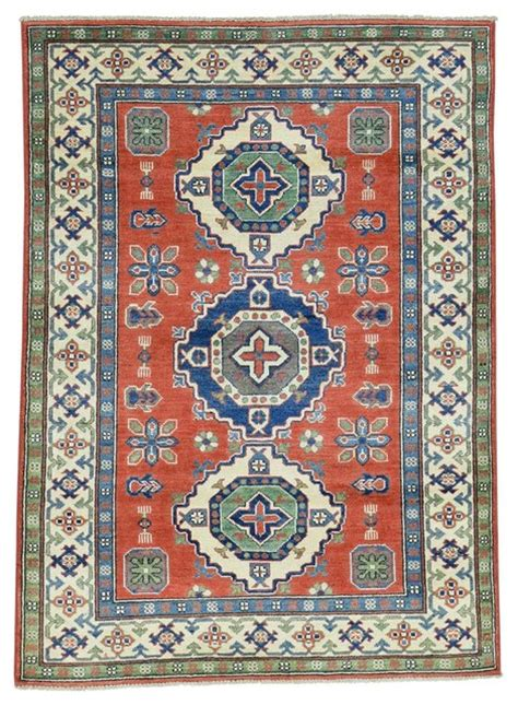 area rugs southwestern design knotted geometric design kazak wool rug southwestern area rugs by 1800