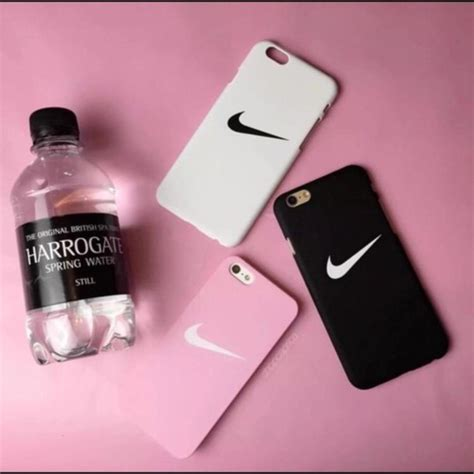 Nike Black Iphone 7 7 Plus Casing Cover Hardcase phone cover nike iphone iphone 6 black pink white phone wheretoget