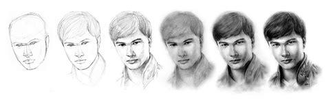 lets draw with your imagination contoh menggambar orang dengan arsiran pensil