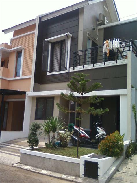 arsitektur gambar rumah minimalis modern  lantai design