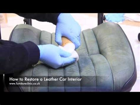 Restoring A Leather by How To Restore A Leather Car Interior