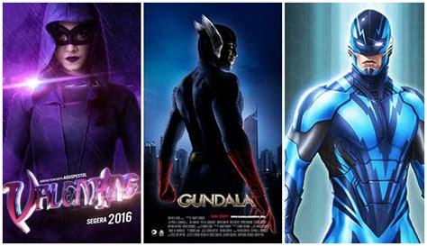 film marvel apa saja jadul hingga paling baru 5 film superhero indonesia ini