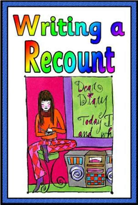 printable recount poster literacy resources ks2 literacy posters features of