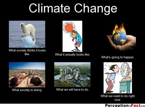 Climate Change Meme - climate change what people think i do what i really do perception vs fact