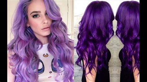 best colors with purple plum purple hair color best brands available