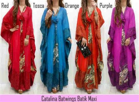 Supplier Baju Anggun Batwing Dress Hq dinomarket pasardino batwing maxi dress modern baju wanita casual blouse kaft