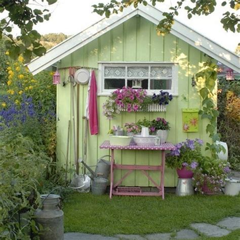 What Colour To Paint Shed by Home Dzine Garden A Garden Shed Hut Or Wendy House