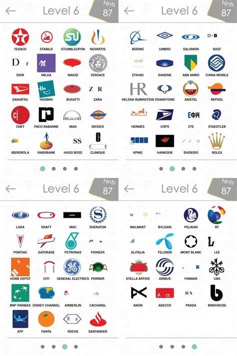 logo quiz level 6 by logos quiz l 246 sungen logos quiz answers alle marken f 252 r